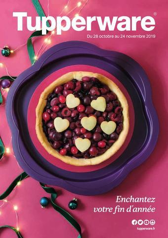 Tupperware catalogue publicitaire (valable jusqu'au 24-11)