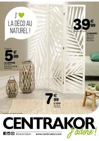 Centrakor catalogue publicitaire (valable jusqu'au 02-06)