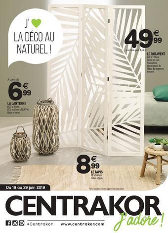 Centrakor catalogue publicitaire (valable jusqu'au 29-06)