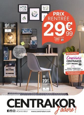 Centrakor catalogue publicitaire (valable jusqu'au 01-09)