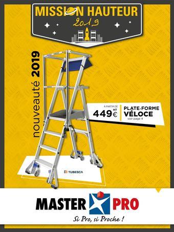 Master Pro catalogue publicitaire (valable jusqu'au 30-09)