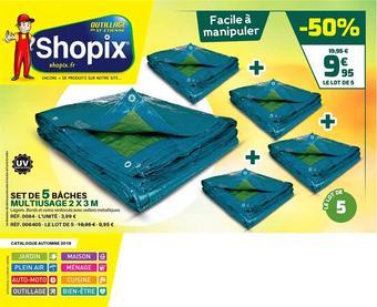 Shopix catalogue publicitaire (valable jusqu'au 31-10)