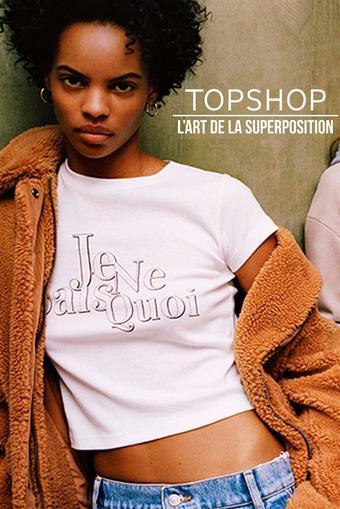 Topshop catalogue publicitaire (valable jusqu'au 29-10)