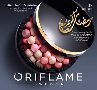 Oriflame catalogue publicitaire (valable jusqu'au 31-05)