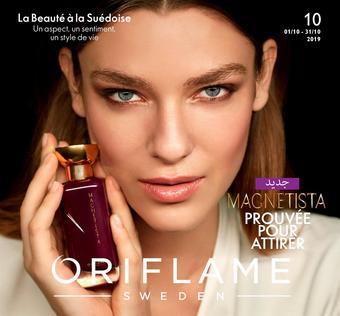 Oriflame catalogue publicitaire (valable jusqu'au 31-10)