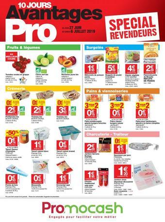 Promocash catalogue publicitaire (valable jusqu'au 06-07)
