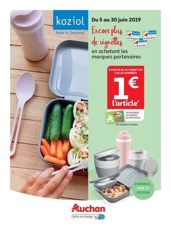 Auchan Drive catalogue publicitaire (valable jusqu'au 30-06)