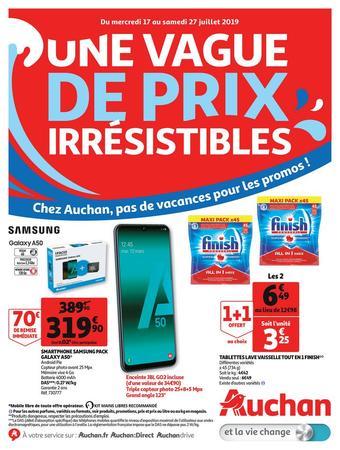 Auchan Drive catalogue publicitaire (valable jusqu'au 27-07)