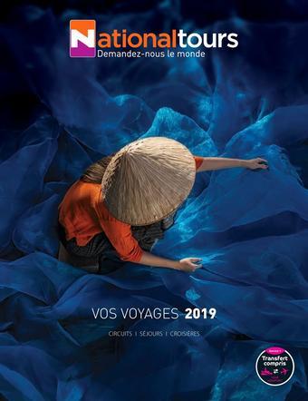 National Tours catalogue publicitaire (valable jusqu'au 31-12)