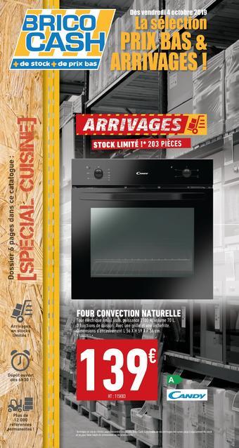 Brico Cash catalogue publicitaire (valable jusqu'au 19-10)