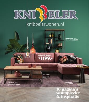 Knibbeler Meubelen reclame folder (geldig t/m 31-01)