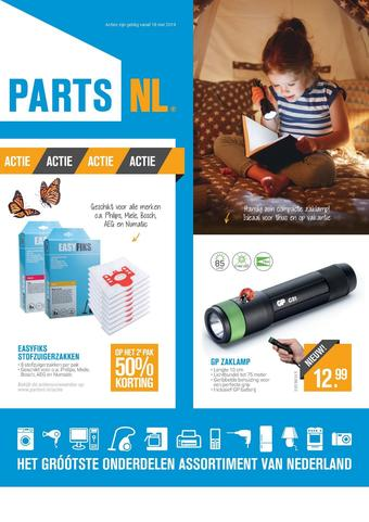 PartsNL reclame folder (geldig t/m 31-07)