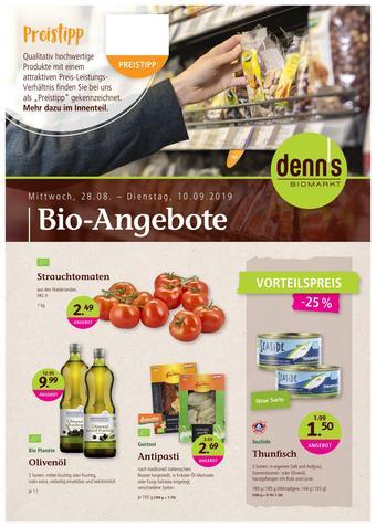 denn's Biomarkt Prospekt (bis einschl. 10-09)