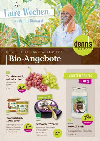 denn's Biomarkt Prospekt (bis einschl. 24-09)