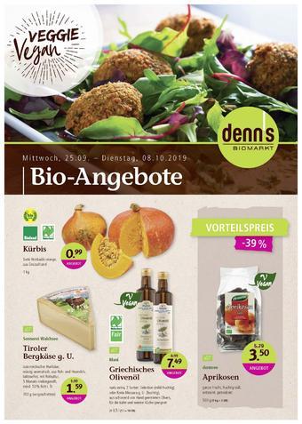 denn's Biomarkt Prospekt (bis einschl. 22-10)