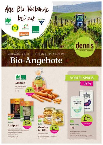 denn's Biomarkt Prospekt (bis einschl. 05-11)