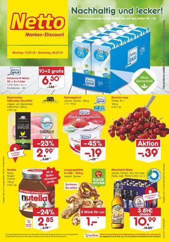 Netto Marken-Discount Prospekt (bis einschl. 20-07)