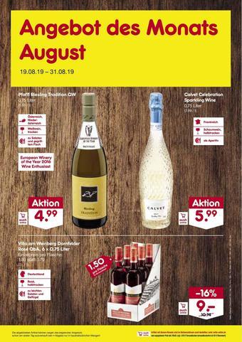 Netto Marken-Discount Prospekt (bis einschl. 31-08)