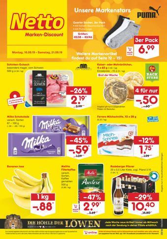 Netto Marken-Discount Prospekt (bis einschl. 21-09)