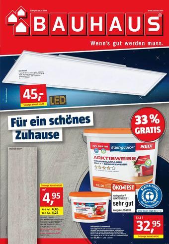 Bauhaus Prospekt (bis einschl. 26-10)