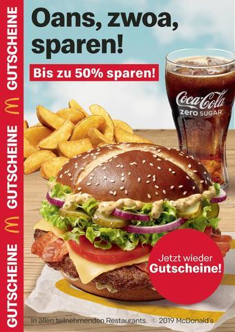 McDonald's Prospekt (bis einschl. 29-09)