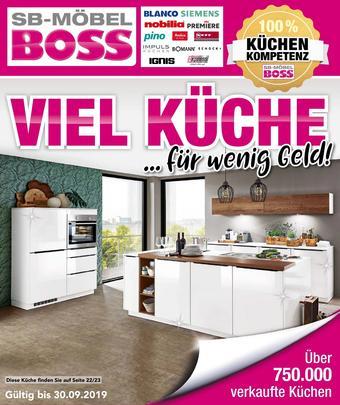 sb mobel boss kuchen prospekt trending