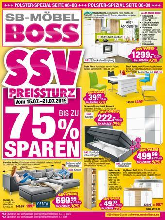 Boss Möbel Prospekt (bis einschl. 21-07)