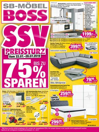 Boss Möbel Prospekt (bis einschl. 28-07)