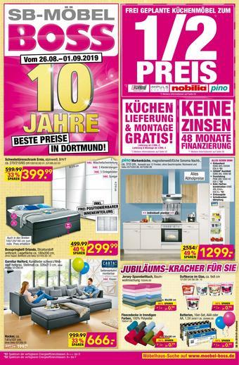 Boss Möbel Prospekt (bis einschl. 01-09)