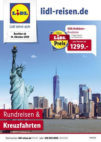 Lidl Reisen Prospekt (bis einschl. 14-11)