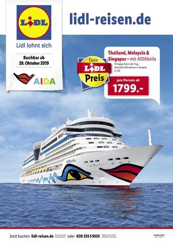 Lidl Reisen Prospekt (bis einschl. 30-11)