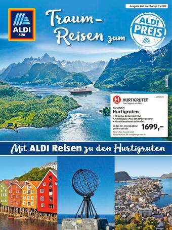 Aldi Süd Reisen Prospekt (bis einschl. 31-05)