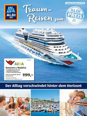 Aldi Süd Reisen Prospekt (bis einschl. 31-07)