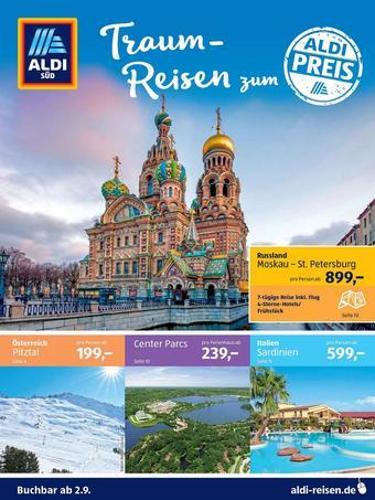 Aldi Süd Reisen Prospekt (bis einschl. 30-09)