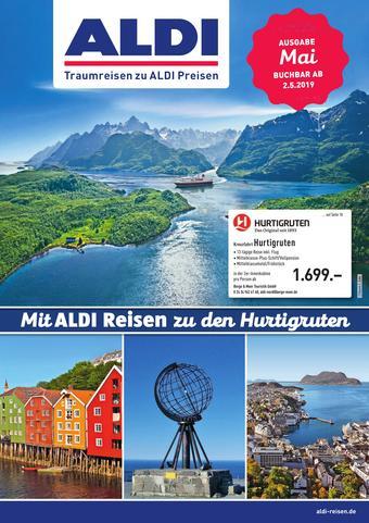 ALDI Nord Reisen Prospekt (bis einschl. 31-05)