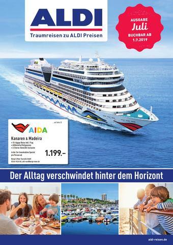 ALDI Nord Reisen Prospekt (bis einschl. 31-07)