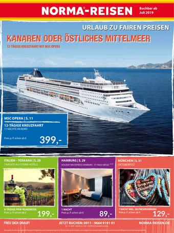 Norma Reisen Prospekt (bis einschl. 31-07)