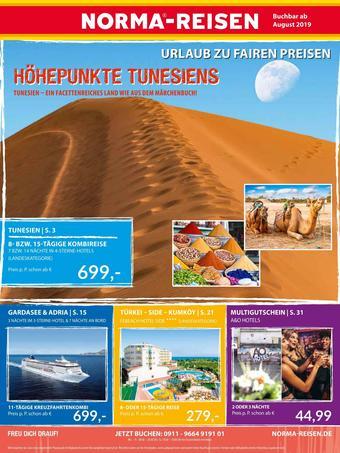Norma Reisen Prospekt (bis einschl. 30-08)