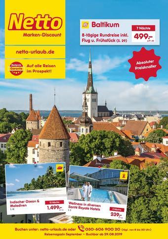 Netto Reisen Prospekt (bis einschl. 30-09)