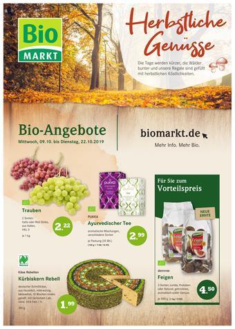 Biomarkt Prospekt (bis einschl. 22-10)