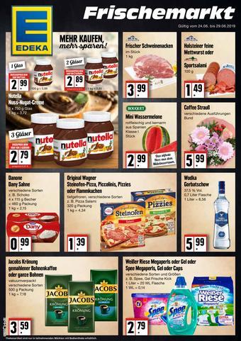 Edeka Frischemarkt Prospekt (bis einschl. 29-06)