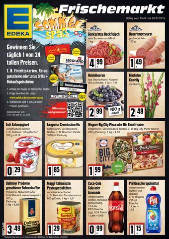 Edeka Frischemarkt Prospekt (bis einschl. 20-07)
