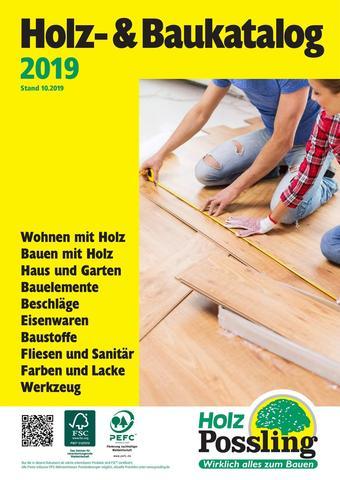 Holz Possling Prospekt (bis einschl. 31-10)