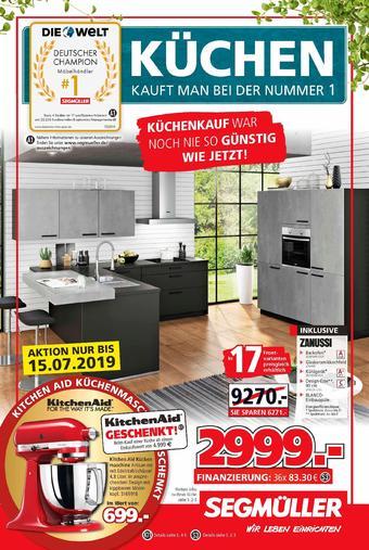 Segmüller Prospekt - Alle Angebote aus den neuen Segmüller Prospekten.