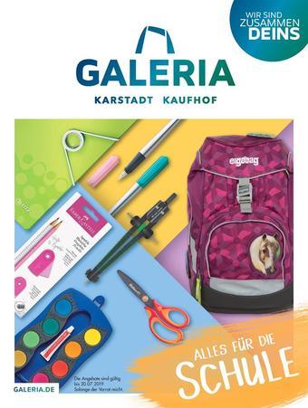 Galeria Kaufhof Prospekt (bis einschl. 20-07)