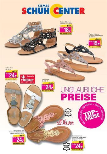 Siemes Schuhcenter Prospekt (bis einschl. 30-06)