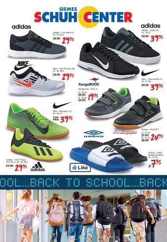 Siemes Schuhcenter Prospekt (bis einschl. 31-08)