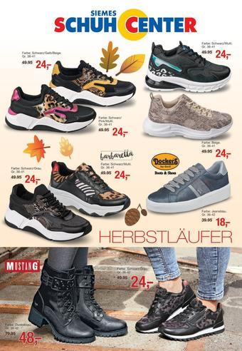 Siemes Schuhcenter Prospekt (bis einschl. 31-10)