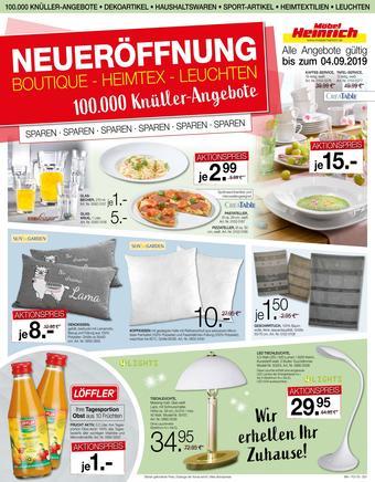 Möbel Heinrich Prospekt (bis einschl. 04-09)