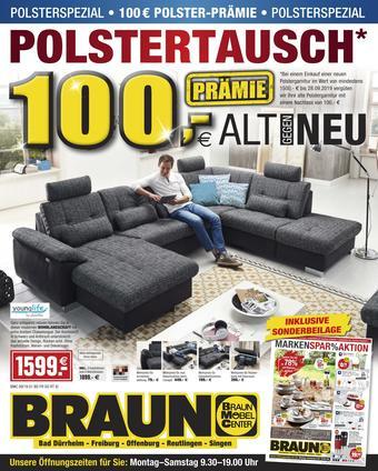 Möbel Braun Prospekt (bis einschl. 28-09)